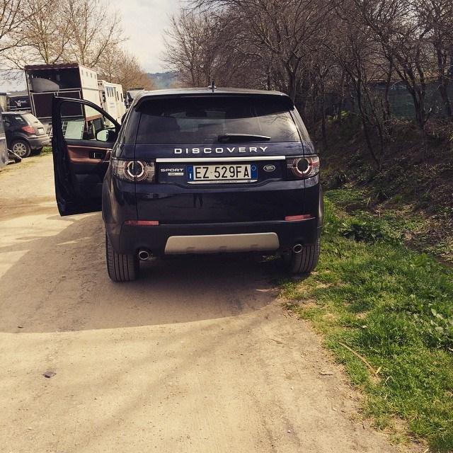 La nuova Discovery Sport di Giulia.