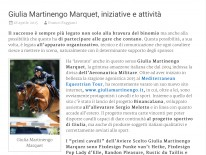articolo dedicato a giulia martinengo su equitAzione