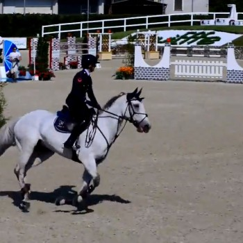 Giulia e Istafan Sissi / Campionato Italiano 2015 / 2° giorno – barrage
